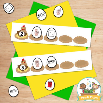 Farm Math Activities for Pre-K and Kindergarten
