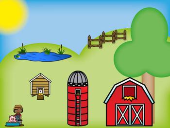 Farm Math Mats