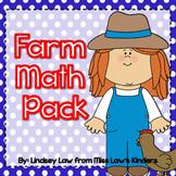 Farm Math Pack