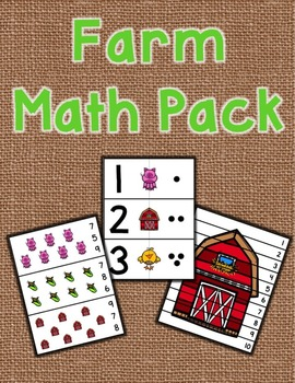 Farm Math Pack