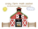 Farm Math Packet