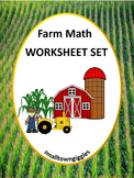 Farm Counting, Sorting,  Worksheets