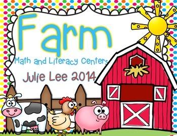 Farm Math and Literacy