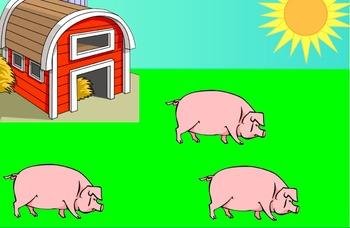 Farm Math and Sight Word Games