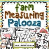 Farm Measuring Palooza -- Farm Animal Measurement Math Centers