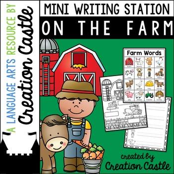 Farm Mini Writing Station