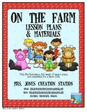 Farm & More...Lesson Plans and Materials