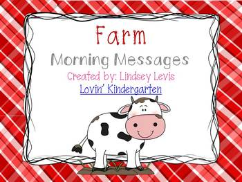Farm- Morning Messages