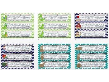 Name Plates Bundle - Desk Tags