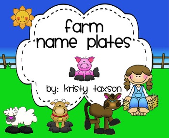 Farm Name Plates