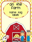 Farm Name Tag Labels
