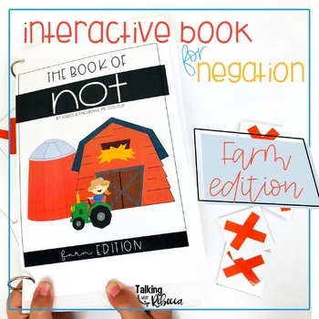 Farm Negation Interactive Book for Speech Therapy