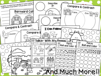 Farm No Prep Speech & Language Unit