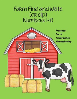 Farm Number Find And Write (or clip!)