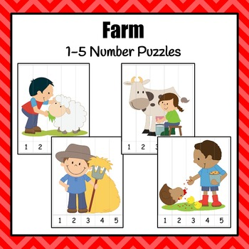 Number Puzzles: Farm Number Puzzles