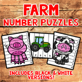 Number Sequencing Puzzles - Farm
