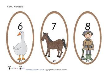 Farm Numbers 0-20