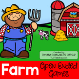 Farm: Open-Ended Games