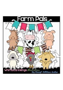Farm Pals Clipart Collection
