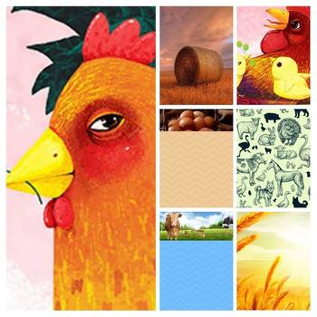 Farm Paper Pack Printable PDF