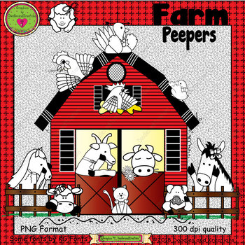 Farm Peepers ClipArt
