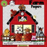 Farm Peepers ClipArt