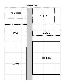 Farm Petting Zoo Area and Perimeter