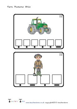 Farm Phoneme Write