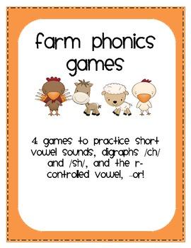 Farm Phonics Games