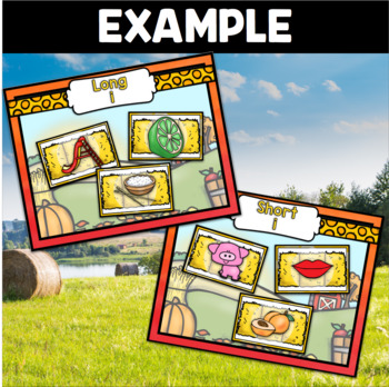 Farm Phonics ~ short /i/ and long /i/