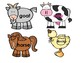 Picture Word Icons ~ Farm
