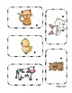 Farm Pocket Chart Freebie!
