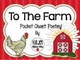 Farm Pocket Chart Poetry