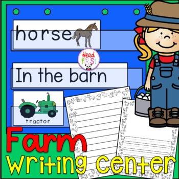 Farm Poster Vocabulary Flashcards Game