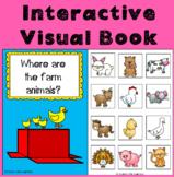 Farm Preposition Interactive Visual Book