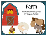 Preschool Activity Unit - Farm