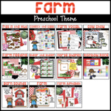 Farm Activities for Preschoolers with Math, Literacy, and