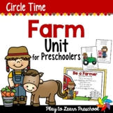 Farm Preschool Unit