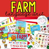 Farm Preschool Language Unit
