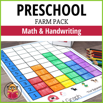 Farm Preschool Pack - Math and Handwriting