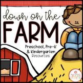FARM THEME ACTIVITIES FOR PRESCHOOL, PRE-K AND KINDERGARTEN