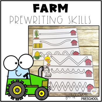 Farm Prewriting Skills