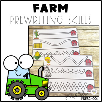Farm Prewriting Skills {Dollar Deal}