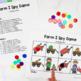 Farm Printable Math & Literacy Activities for Pre-K, Preschool, Kindergarten