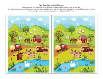 Farm Printables Pack