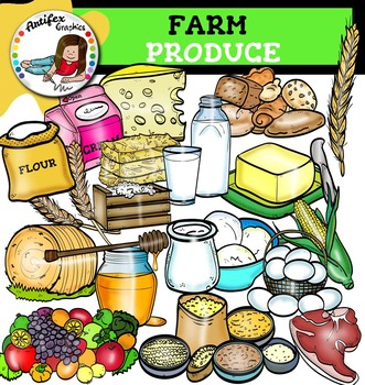 Farm Produce clip art