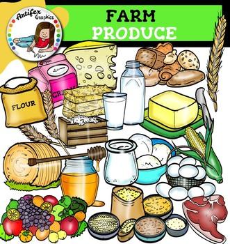 Farm Produce clip art