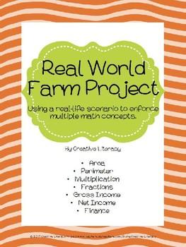 Farm Project Using Real World Math