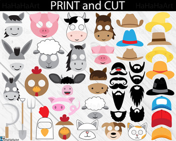 Farm Props Digital Clip Art Personal Commercial Use 223 images cod172