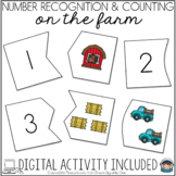 Farm Puzzle - Self Correcting (Counting & Number Recogniti